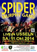 Spider Murphy Gang Oktober 2014 in Usseln